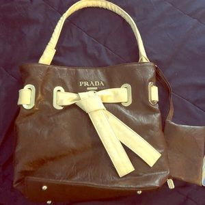 Handbags - Rare Vintage Prada leather (Milano DAL 1913)
